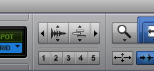 Fig. 9: zoom presets, tab to transients y keyboard focus.