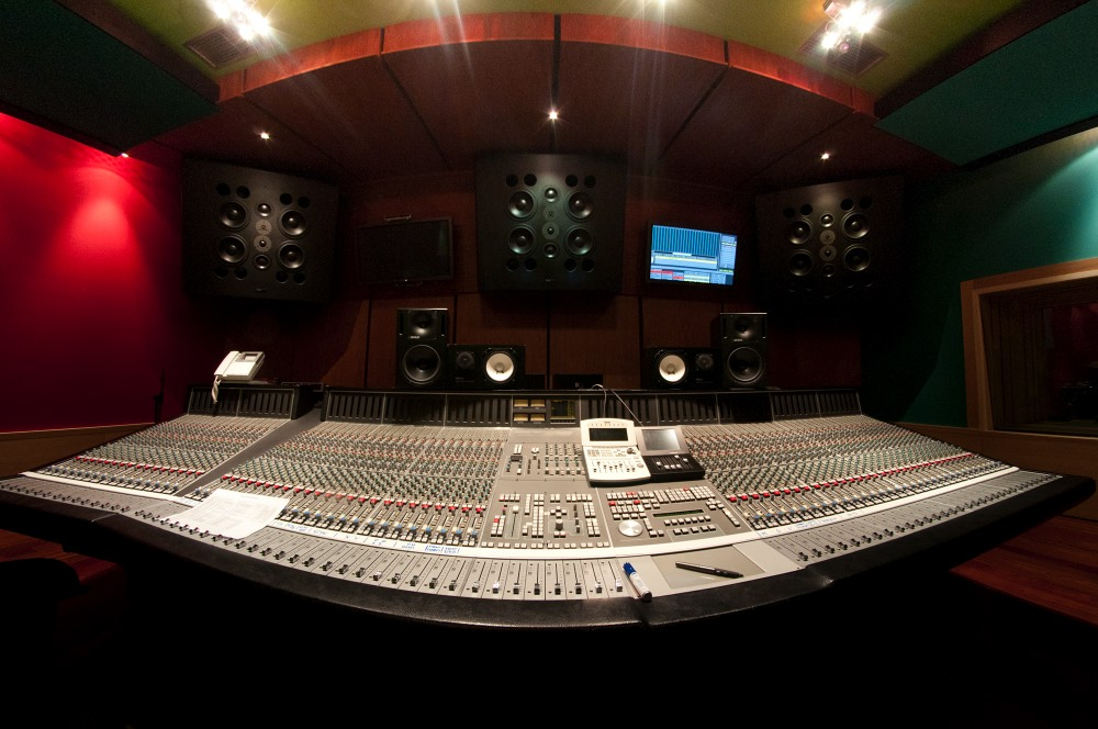 PKO's Control 1, with the SSL 9000J presiding the room
