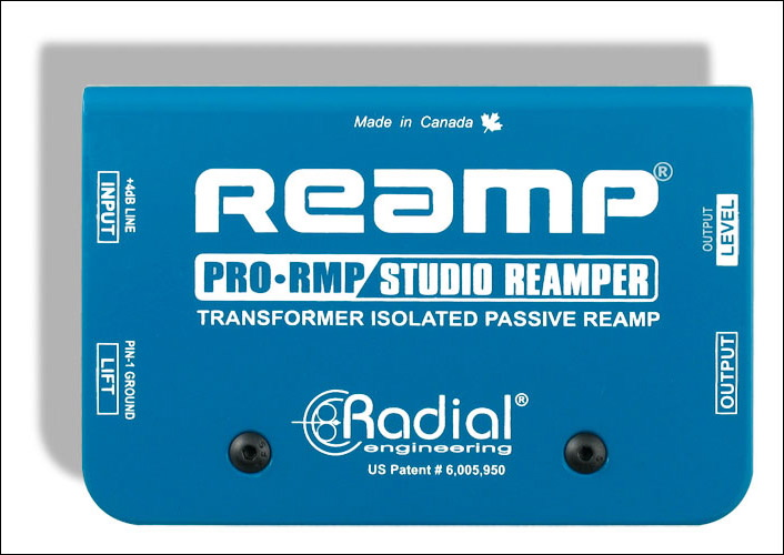 Radial Pro RMPes un reamper asequible