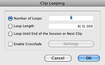 Fig. 7: Clip Looping